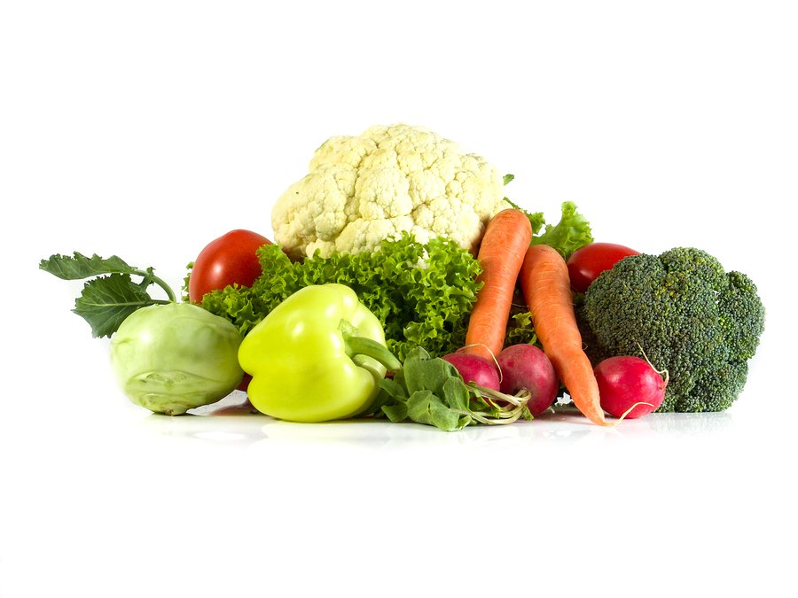 Vegetables isolated on a white background .Fresh vegetables. Colorful vegetable . Healthy vegetable . Assortment of fresh vegetables .Healthy food